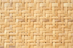 Weave wood pattern for background Royalty Free Stock Photos