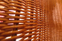 Weaved bamboo Royalty Free Stock Images