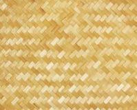 Weaved bamboo craft by handmade Stock Photos