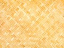 Weaved bamboo craft by handmade Stock Image