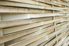 Weaved bamboo Stock Photography