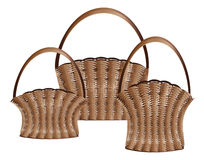 Weaved baskets Stock Photos