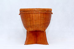 Weaved Baskets For Rice Royalty Free Stock Images