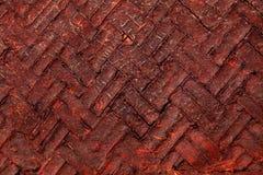 Weaved Cane Pattern Royalty Free Stock Image