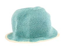 Weaved fashion hat Royalty Free Stock Photos