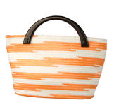 Weaved handbag Stock Image
