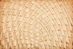 Weaved palm leaves Royalty Free Stock Photos