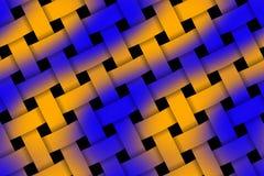Weaved pattern Stock Image