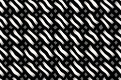 Weaved pattern Stock Images