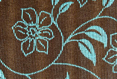 Weaved plastic mat are low cost to produced, versatile in use / Synthetic mat / Good for picnic Royalty Free Stock Images