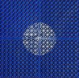 Weaved plastic texture Stock Photos
