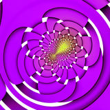 Weaved purple background. Weaved purple and yellow background Stock Photos