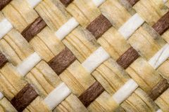 Weaved straw Stock Image
