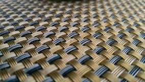 Weaved table Stock Photo