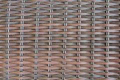 Weaved textured o fundo Fotos de Stock Royalty Free