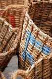 Weaven baskets Royalty Free Stock Photos
