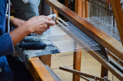 Weaver at Work Stock Photography