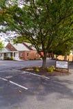 Weavertown-Amisch-Mennonit-Kirchengebäude lizenzfreies stockfoto