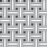 Weaving abstract pattern - vector background Royalty Free Stock Photo