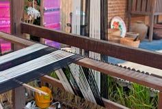 Weaving apparatus, handmade of Thailand Stock Image