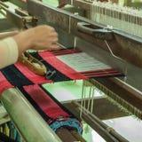 Weaving apparatus Royalty Free Stock Photos