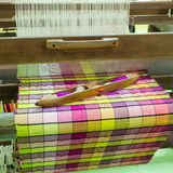 Weaving apparatus Stock Image