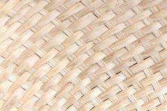Weaving bamboo fan closeup texture Royalty Free Stock Image