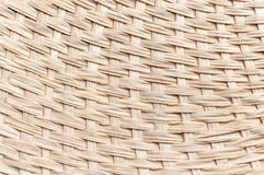 Weaving bamboo fan closeup texture Royalty Free Stock Images