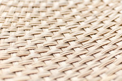 Weaving bamboo fan closeup texture Royalty Free Stock Photo
