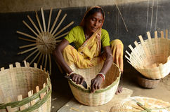 Weaving Baskets Stock Photos