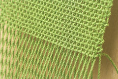 Weaving close-up Royalty Free Stock Photos