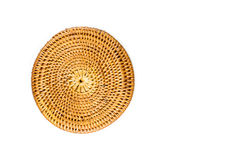 Weaving dish on a white background Royalty Free Stock Photo