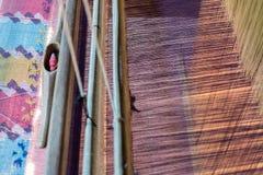 Weaving equipmen Stock Photos