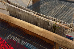 Weaving hand loom Stock Images