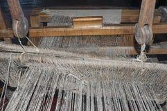 Weaving handloom Royalty Free Stock Images