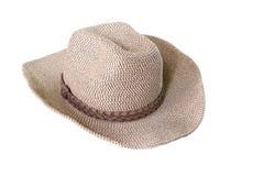 Weaving hat Royalty Free Stock Photos