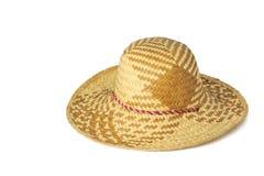 Weaving hat Royalty Free Stock Photo