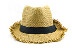 Weaving hat isolate Royalty Free Stock Photos