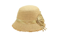 Weaving hat isolate Stock Images