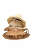 Weaving hat isolate Stock Photo