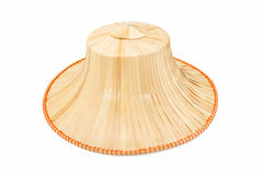 Weaving hat isolated Stock Images