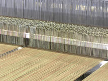 Weaving loom Stock Photo
