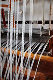 Weaving loom Royalty Free Stock Photo