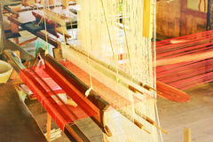 Weaving loom Royalty Free Stock Photography