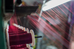 Weaving loom. Stock Photos