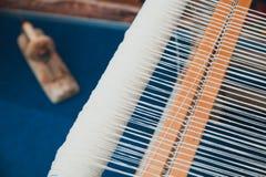 Weaving Loom Stock Photo