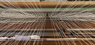Weaving machine Royalty Free Stock Photography