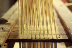 Weaving machine Stock Photography