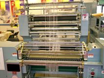 Weaving machine Stock Photos