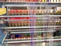 Weaving machine Royalty Free Stock Photos